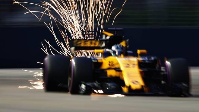 Nico Hülkenberg beim Großen Preis der Formel 1 in Singapur
