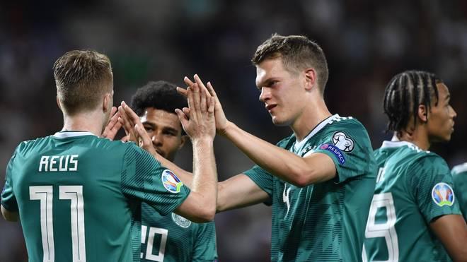 Das DFB-Team will in der EM-Qualifikation auch gegen Estland jubeln