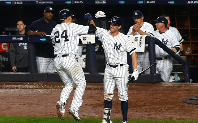 Divisional Round - Cleveland Indians v New York Yankees - Game Four