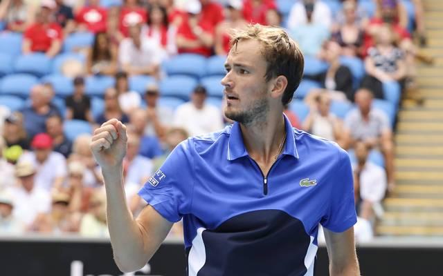 Daniil Medvedev nimmt an den ATP Finals teil