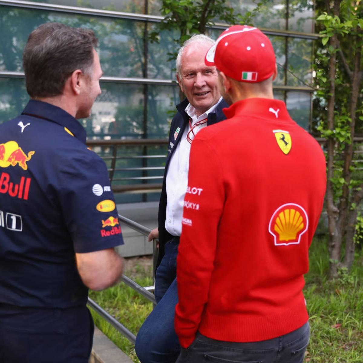 Marko watscht Vettel und Ferrari ab