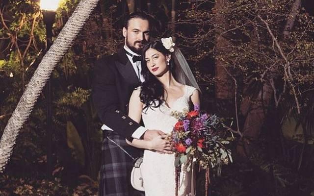 Drew McIntyre heiratete 2016 seine Frau Kaitlyn Frohnapfel