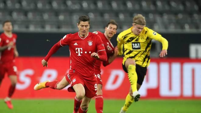 Der FC Bayern empfängt Borussia Dortmund zum Topspiel