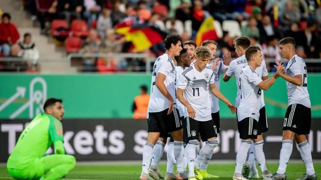 Gelungener Start: Die neue U21-Auswahl zeigt sich in Zwickau spielstark und angriffslustig