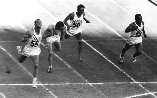 Bobby Joe Morrow gewann in Melbourne dreimal Olympia-Gold