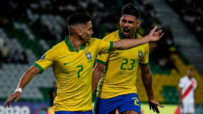 Paulinho schoss den Ausgleich gegen Paraguay
