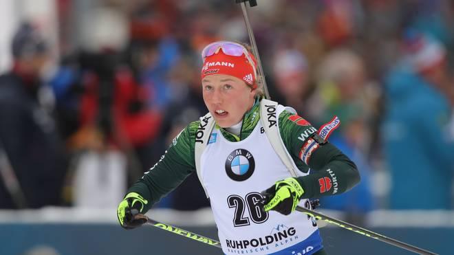 Laura Dahlmeier gewann bei Olympia 2018 zwei Goldmedaillen