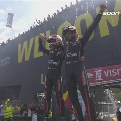Auf F1-Kurs: Neuville gewinnt Heim-Rallye