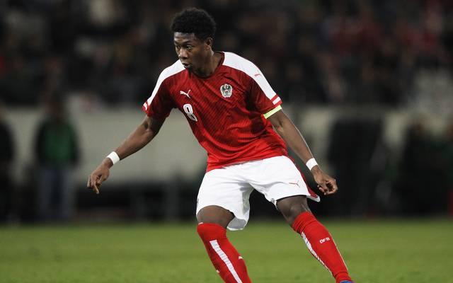 David Alaba fällt für die EM-Qualifikationsspiele ausus
