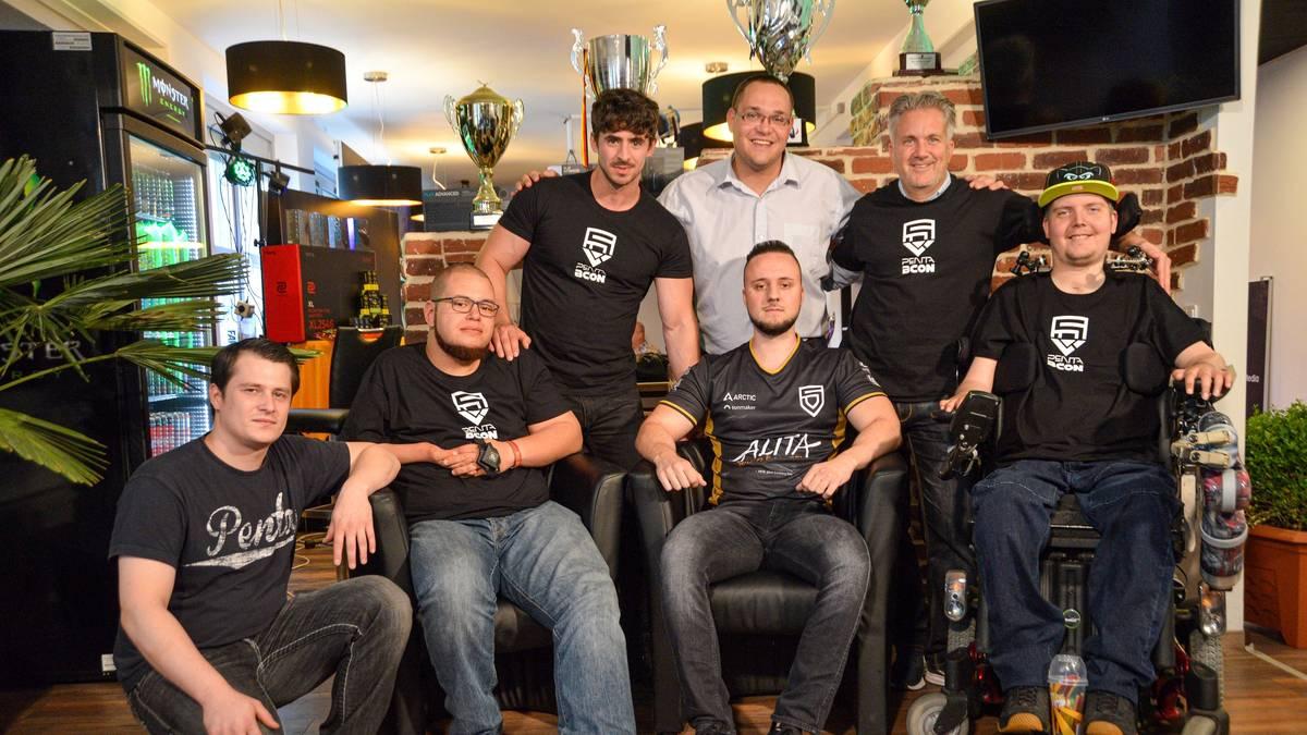 PENTA + BCON stellen 1 eSports-Team für handicapped Spieler vor
