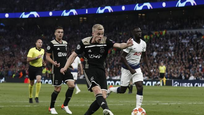 Ajax Amsterdam, Tottenham Hotspur, Champions League
