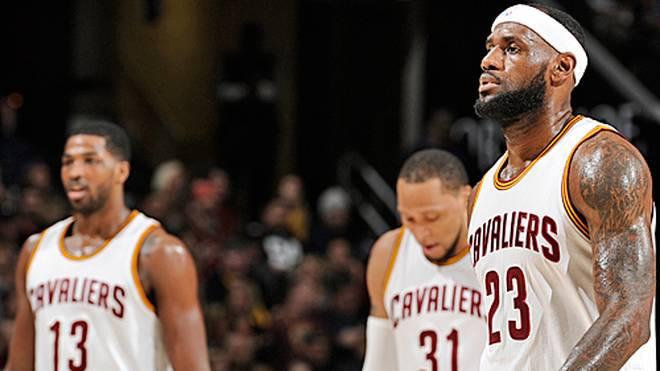 LeBron James wechselte vor der Saison von den Miami Heat zu den Cavaliers
