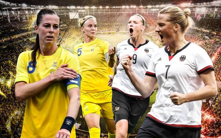 Im Olympia-Finale treffen die deutschen Fußballerinnen auf ihren Lieblingsgegner Schweden (22.30 Uhr im LIVETICKER). Die Skandinavierinnen schockten zuletzt aber die USA und Brasilien. SPORT1 zeigt, auf wen es ankommt