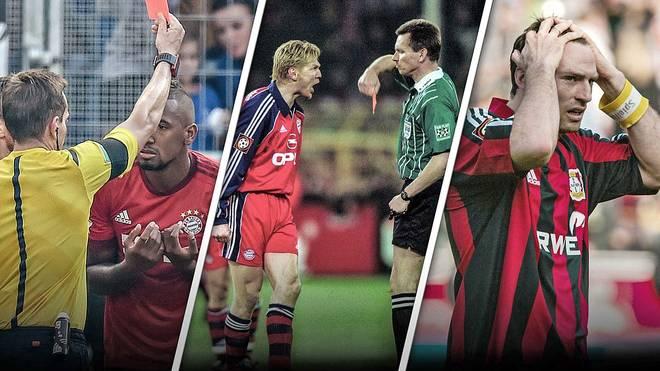 Jerome Boateng, Stefan Effenberg, Jens Nowotny: Die Rekordsünder
