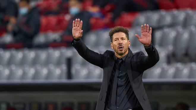 Diego Simeone wird als bester Trainer des Jahrzehnts ausgezeichnet