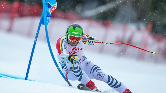 Andreas Sander belegt beim Super G in Val d'Isere Rang acht