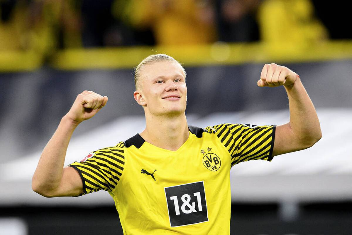 Die enorme Bedeutung von Erling Haaland für den BVB wird in Mönchengladbach einmal mehr deutlich. Auch Zahlen belegen, wie wichtig der Stürmer für Borussia Dortmund ist.