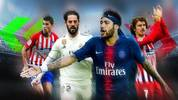 Rodri, Isco, Neymar, Griezmann