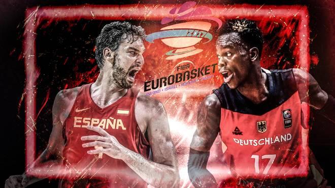 Basketball EM: Deutschland vs. Spanien  LIVE im Liveticker