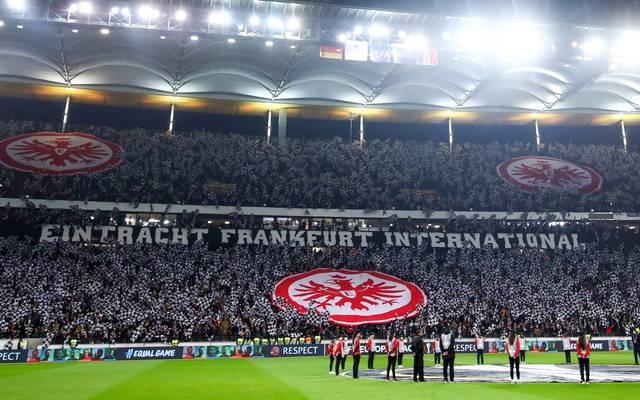 Fans von Eintracht Frankfurt sind bekannt für ihre ausgefallenen Choreos