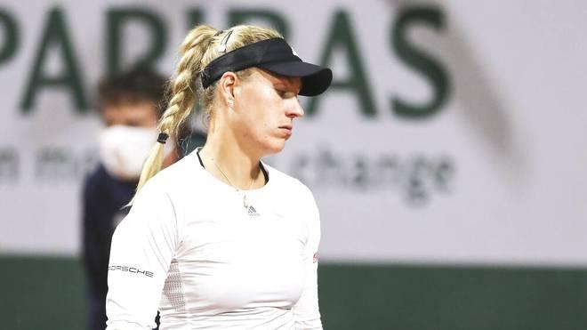 Angelique Kerber präsentierte sich bei ihrer French-Open-Erstrundenpartie von der Rolle