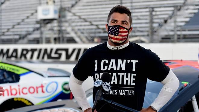 Bubba Wallace ist aktuell der einzige schwarze Pilot in der NASCAR