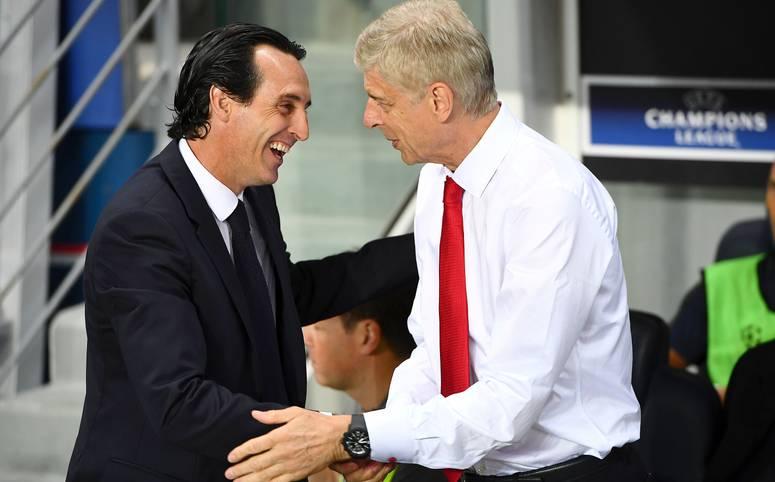 Der FC Arsenal erfindet sich nach dem Ende der 22 Jahre langen Ära Arsene Wenger neu. Die Handschrift von Wengers Nachfolger Unai Emery (l.) ist sofort erkennbar