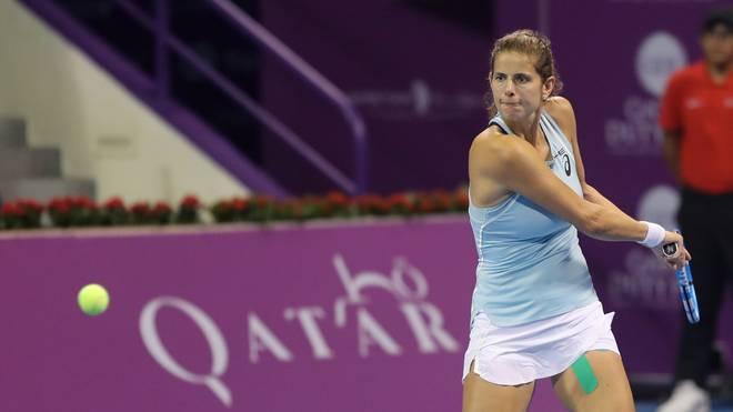 Julia Görges ist seit 2005 Profi-Tennisspielerin