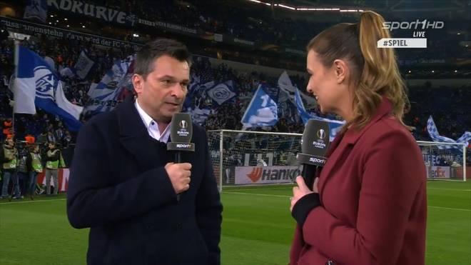 Christian Heidel, Manager von FC Schalke 04, äußert sich zu Markus Weinzierl vor Achtelfinale in UEFA Europa League