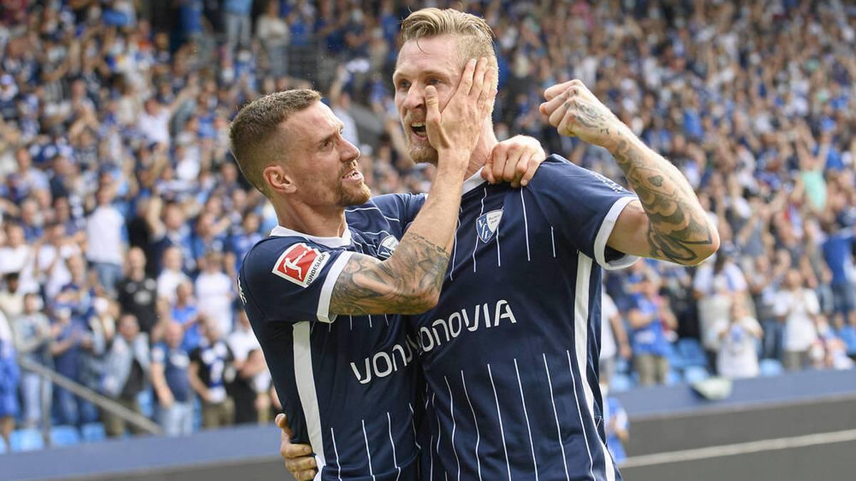Sebastian Polter traf für den VfL Bochum gegen Mainz 05