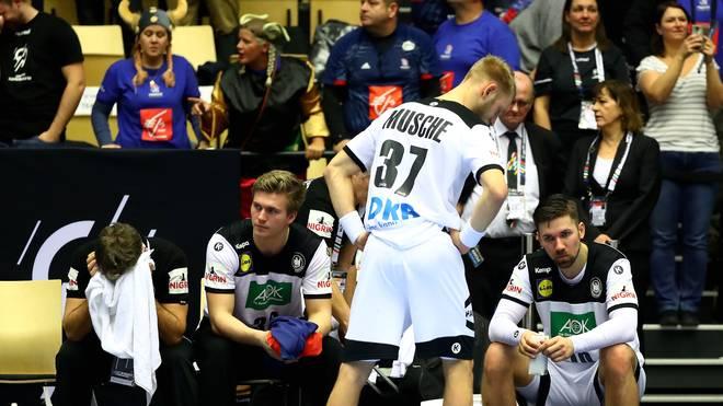 Matthias Musche leistete sich im Bronze-Match zwischen Deutschland und Frankreich einen fatalen Fehlpass