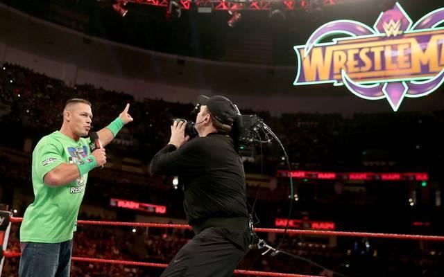 John Cena sprach bei WWE Monday Night RAW über den Undertaker und WrestleMania 34