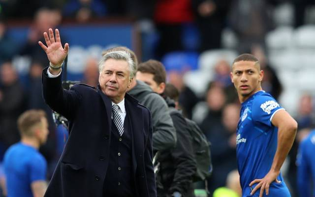 Carlo Ancelotti und Spieler des FC Everton nehmen Gehaltskürzungen in Kauf
