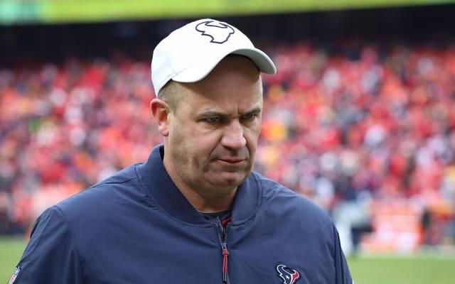 Nach vier Niederlagen in Folge ist Schluss für Bill O'Brien bei den Houston Texans