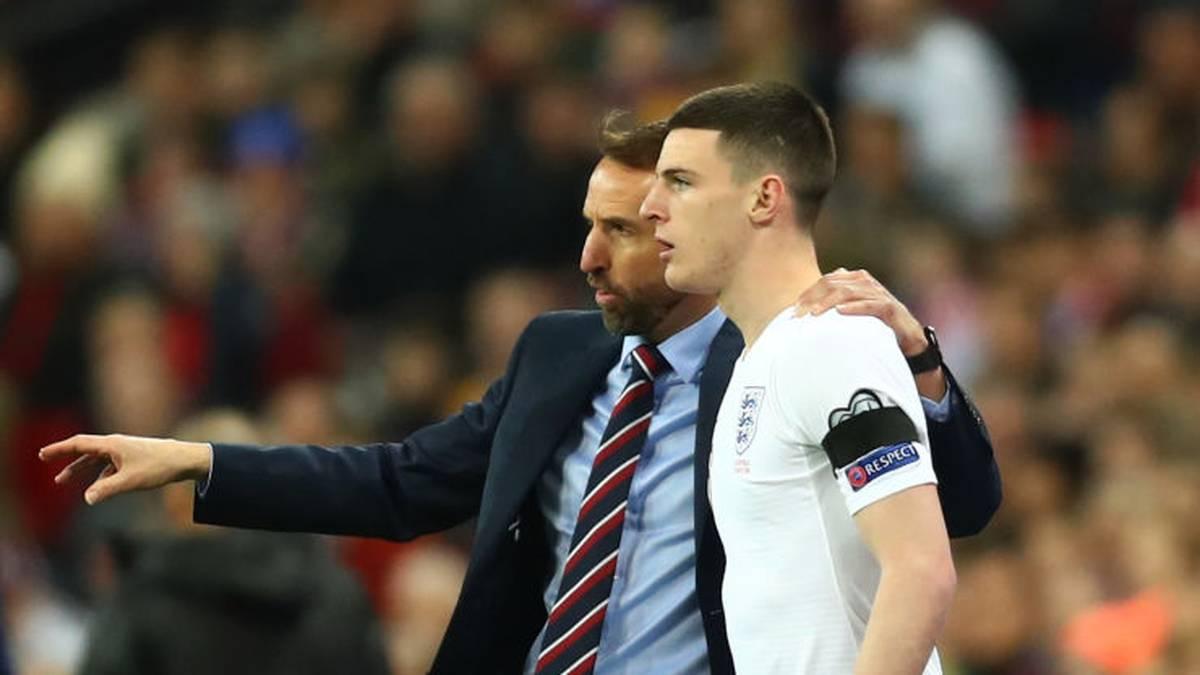 Declan Rice bestritt bislang sieben Länderspiele für England