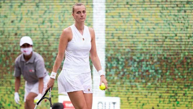 Petra Kvitova muss bis Freitag auf das Finale von Berlin warten