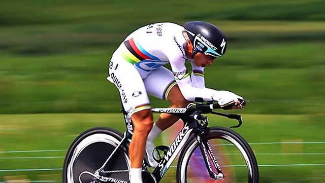 Tony Martin wurde dreimal in Folge Weltmeister im Zeitfahren
