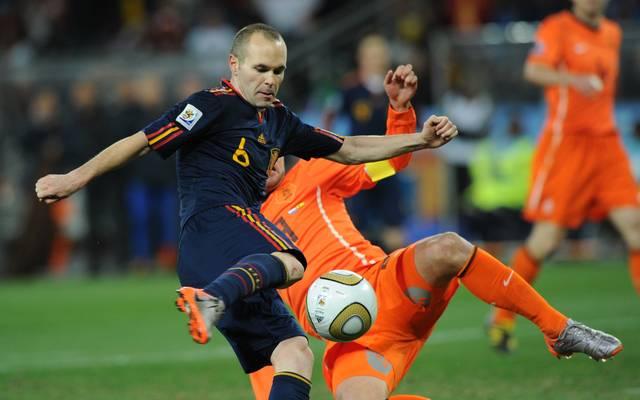 2010 schoss Andrés Iniesta Spanien zum WM-Titel