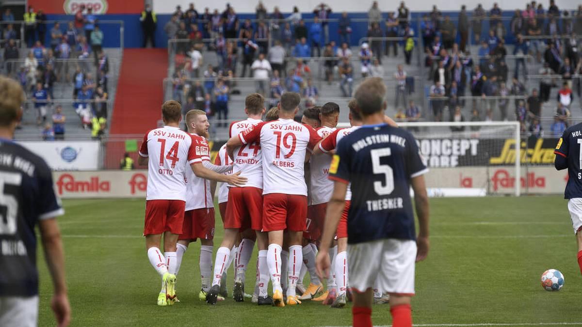 Regensburg feierte einen souveränen Sieg in Kiel