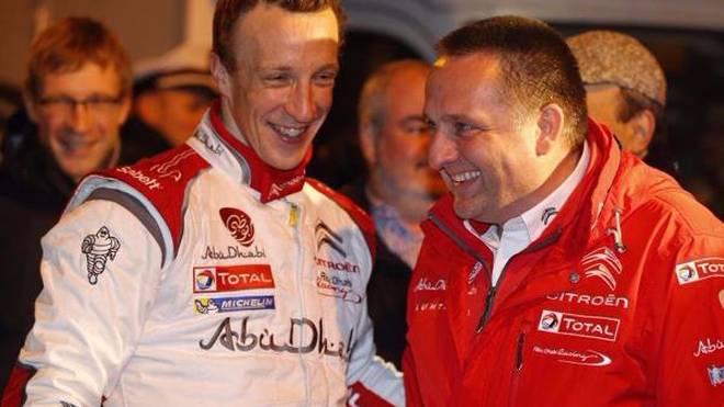 Yves Matton (re.) ist von den Qualitäten seiner Fahrer überzeugt
