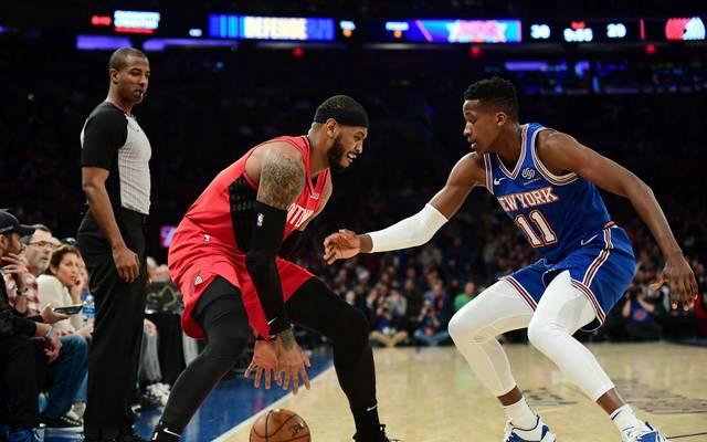 Carmelo Anthony kehrte nach New York zurück