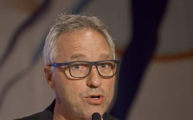Der ehemalige Biathlet Herbert Fritzenwenger ist Co-Kommentator beim ZDF