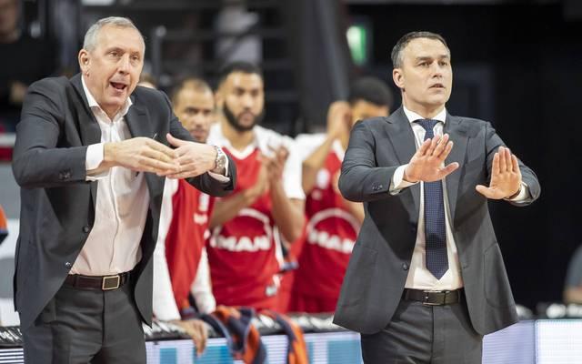 Emir Mutapcic (l.) und Oliver Kostic (r.) haben die Bayern verlassen