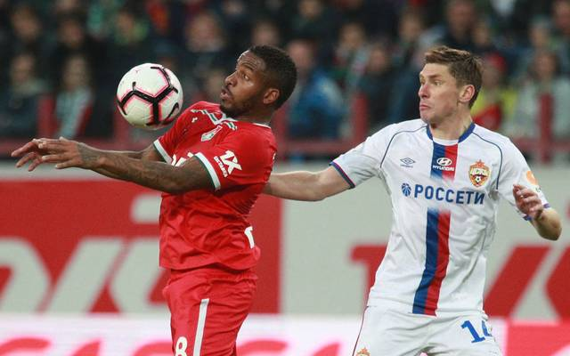 Jefferson Farfán (links) spielt seit 2017 in Russland