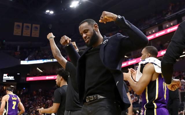 LeBron James fehlte gegen die Warriors mit einer Verletzung