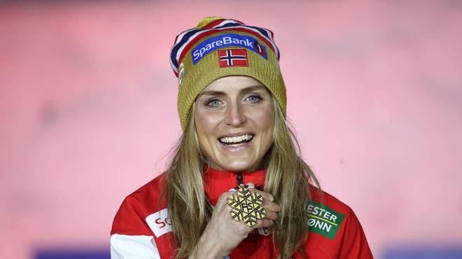 Therese Johaug war mit vier Goldmedaillen die erfolgreichste Athletin der Nordischen Ski-WM in Oberstdorf
