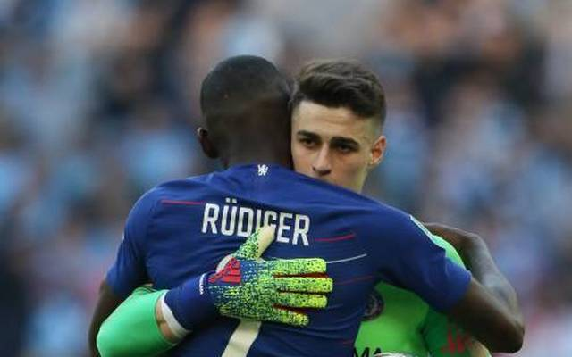 Streit beigelegt: Antonio Rüdiger und Kepa Arrizabalaga