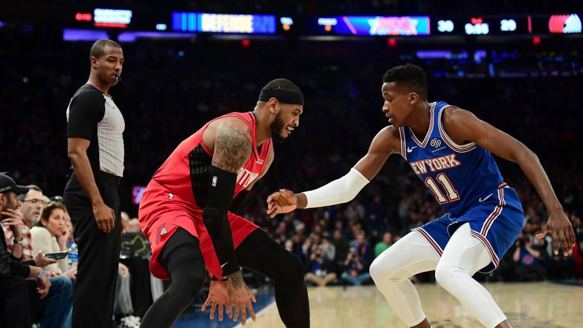 Standing Ovations für Anthony trotz Pleite - Lakers setzen Serie fort