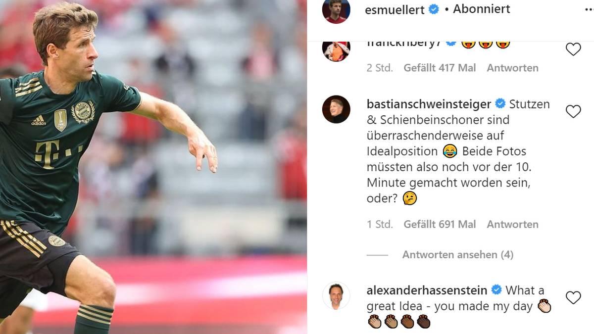 Bastian Schweinsteiger meldete sich zu Wort