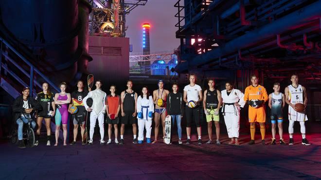 Mehr als 5.000 junge Athletinnen und Athleten aus aller Welt kämpfen bei den Ruhr Games 2019 um Medaillen.